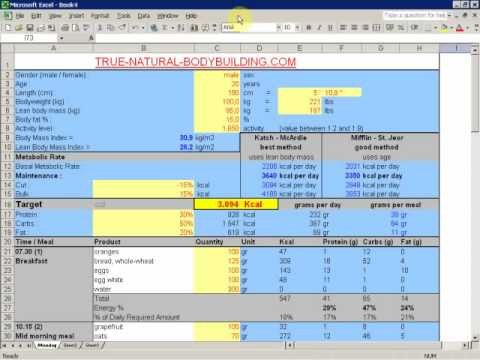 Bodybuilding Meal Planner Template How to Create A Meal Plan for Bodybuilding