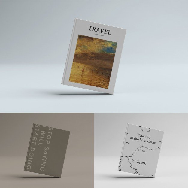 Book Cover Template Psd Book Cover Template Psd File