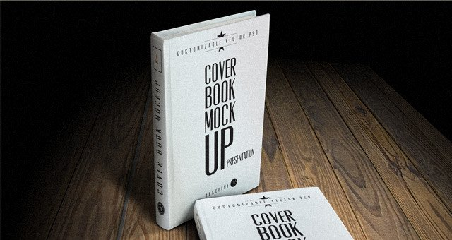 Book Cover Template Psd Psd Book Cover Mockup Template