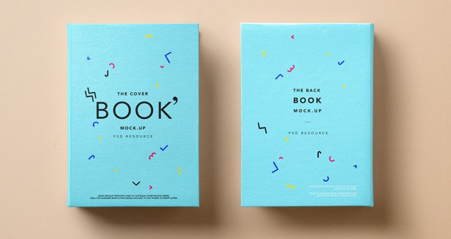 Book Cover Template Psd Psd Hardback Book Cover Mockup