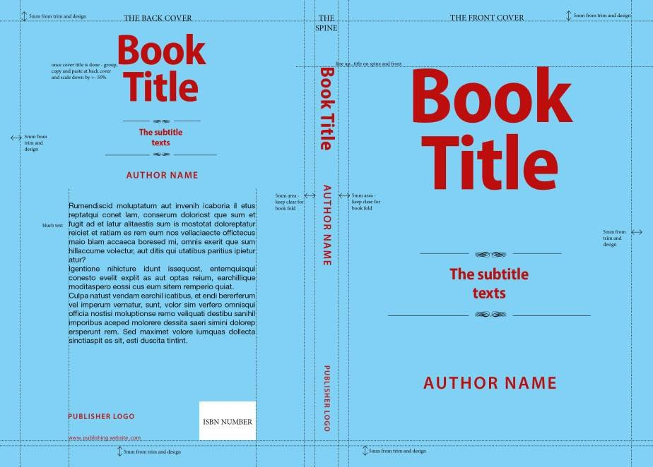 Book Cover Template Word Making A Book Cover – Zenmalas