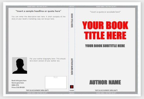Book Template Microsoft Word Appellate Brief Cover Page Word Template Templates