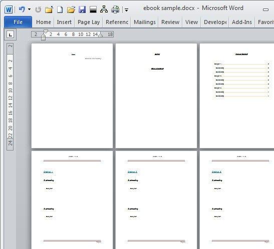 Book Template Microsoft Word Book Template Category Page 1 Dahkai