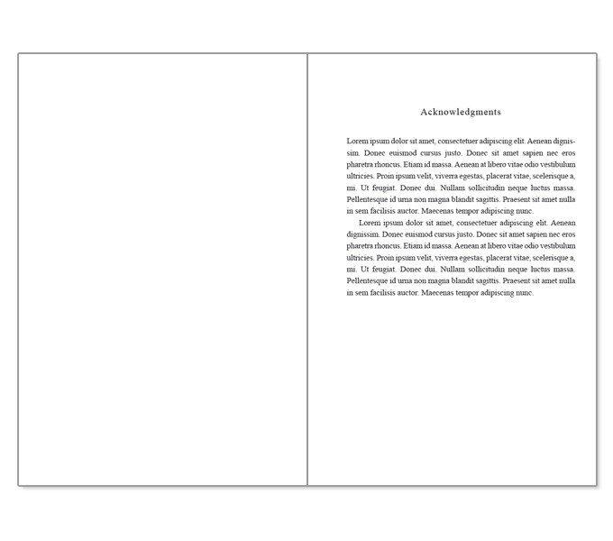 Book Template Microsoft Word Microsoft Word Book Template