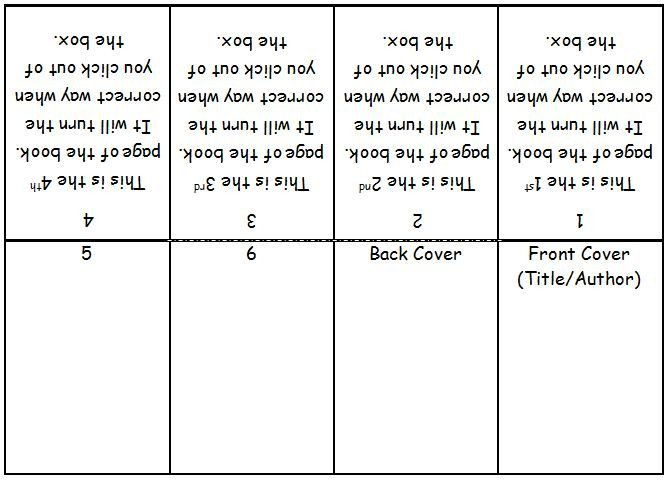 Book Template Microsoft Word Mini Book Template Microsoft Word Google Search