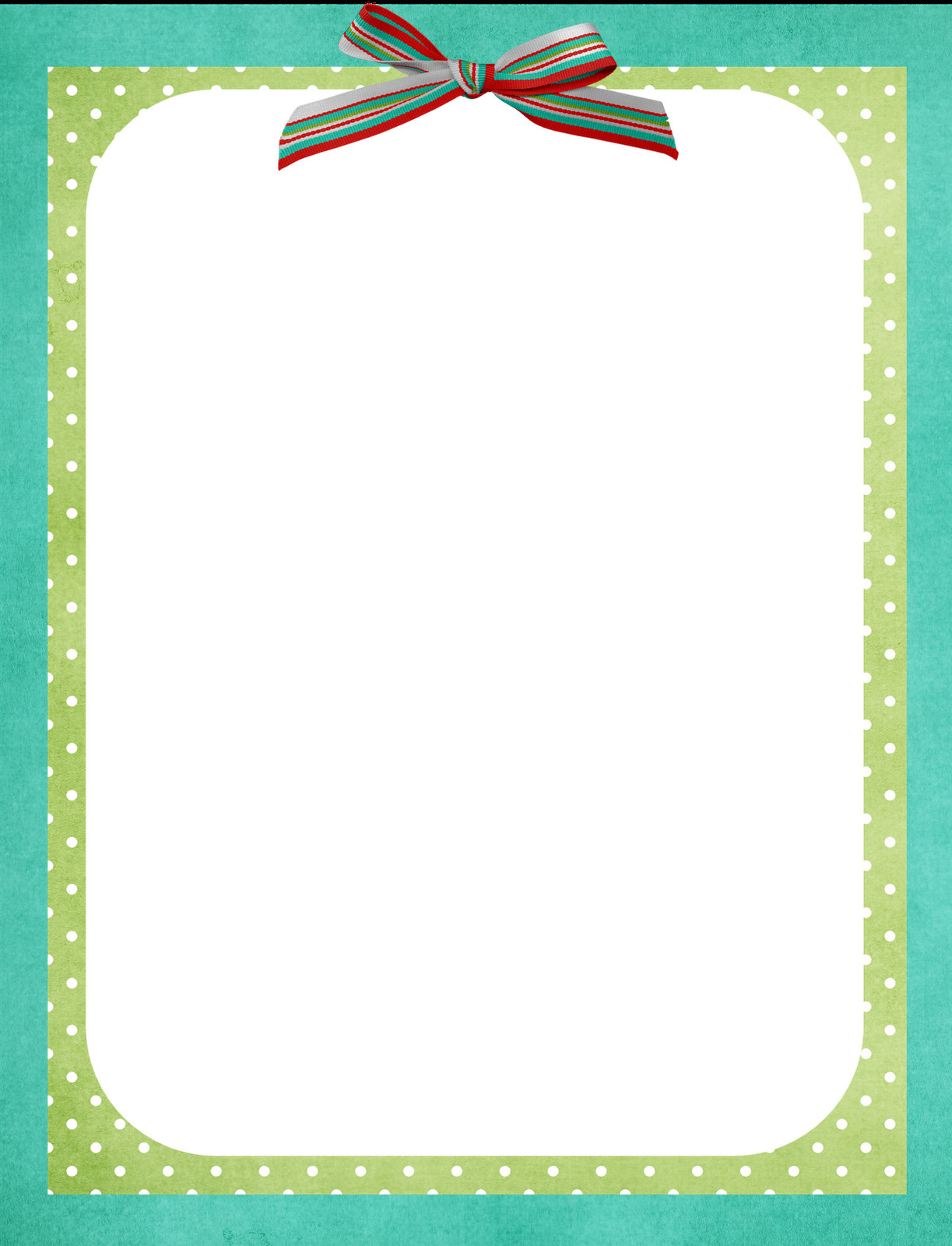 Border Template for Word Free Border Template All Things Nice
