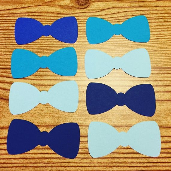 Bow Tie Cut Out Bow Tie Cut Outs Shades Of Blue