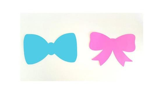 Bow Tie Cut Out Bow Tie Die Cuts Bow Tie Cutouts Bow Tie Cut Outs Bow Die