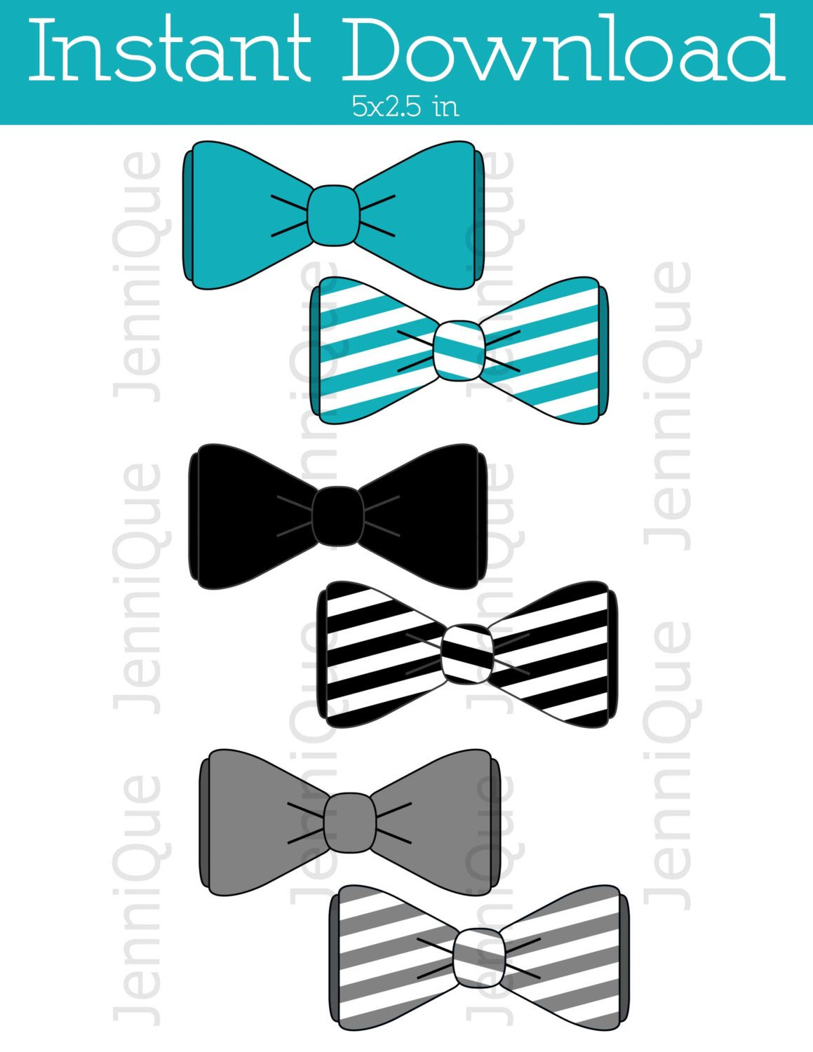 Bow Tie Cut Out Printable Bow Tie Bow Tie Cut Outs Bow Tie Baby Shower