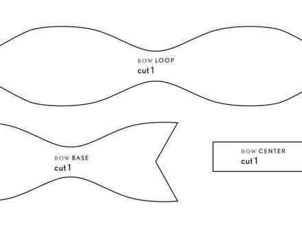 Bow Tie Template Printable 59 Bow Tie Pattern Free Diy Props Sandy Anger