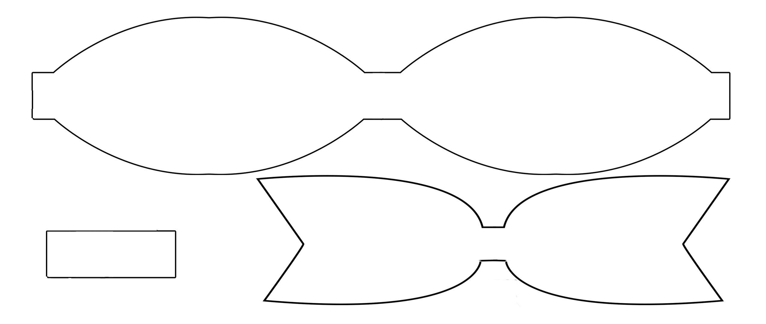Bow Tie Template Printable Paper Bow Tie Template Printable – Ezzy