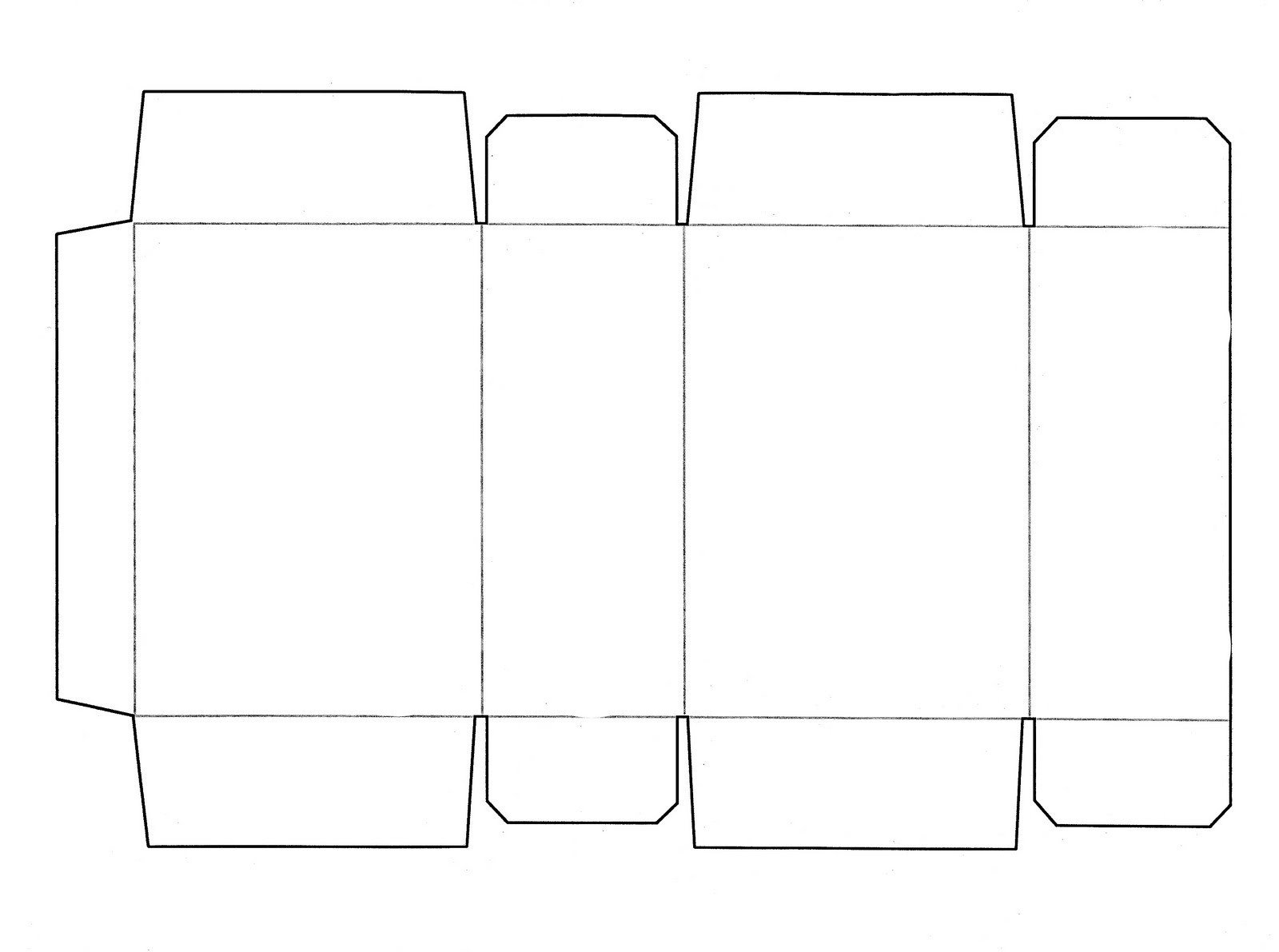 Box Templates Free Printable Box Template Printable