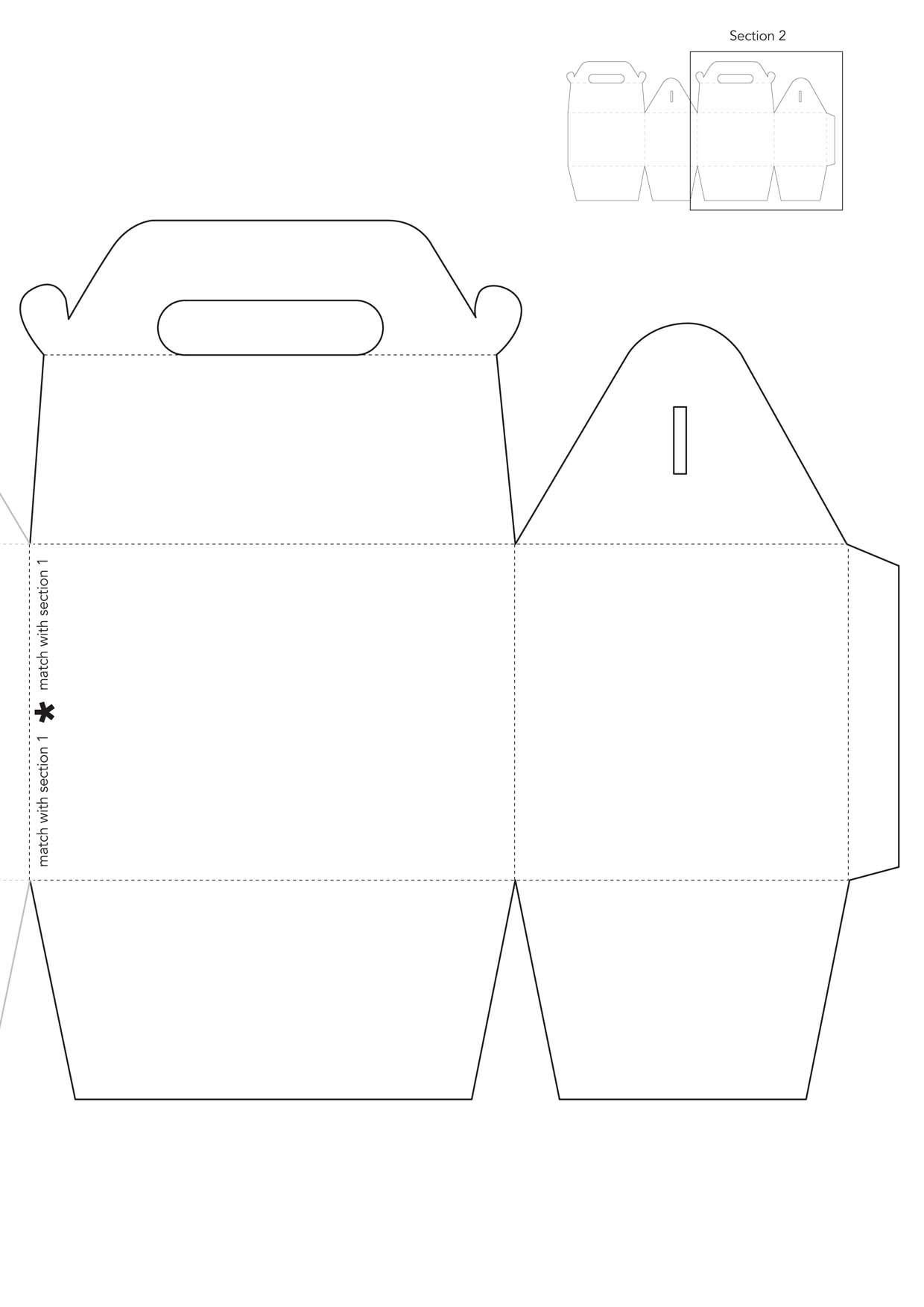 Box Templates Free Printable Gift Box Template to Download From issue 59 Papercraft