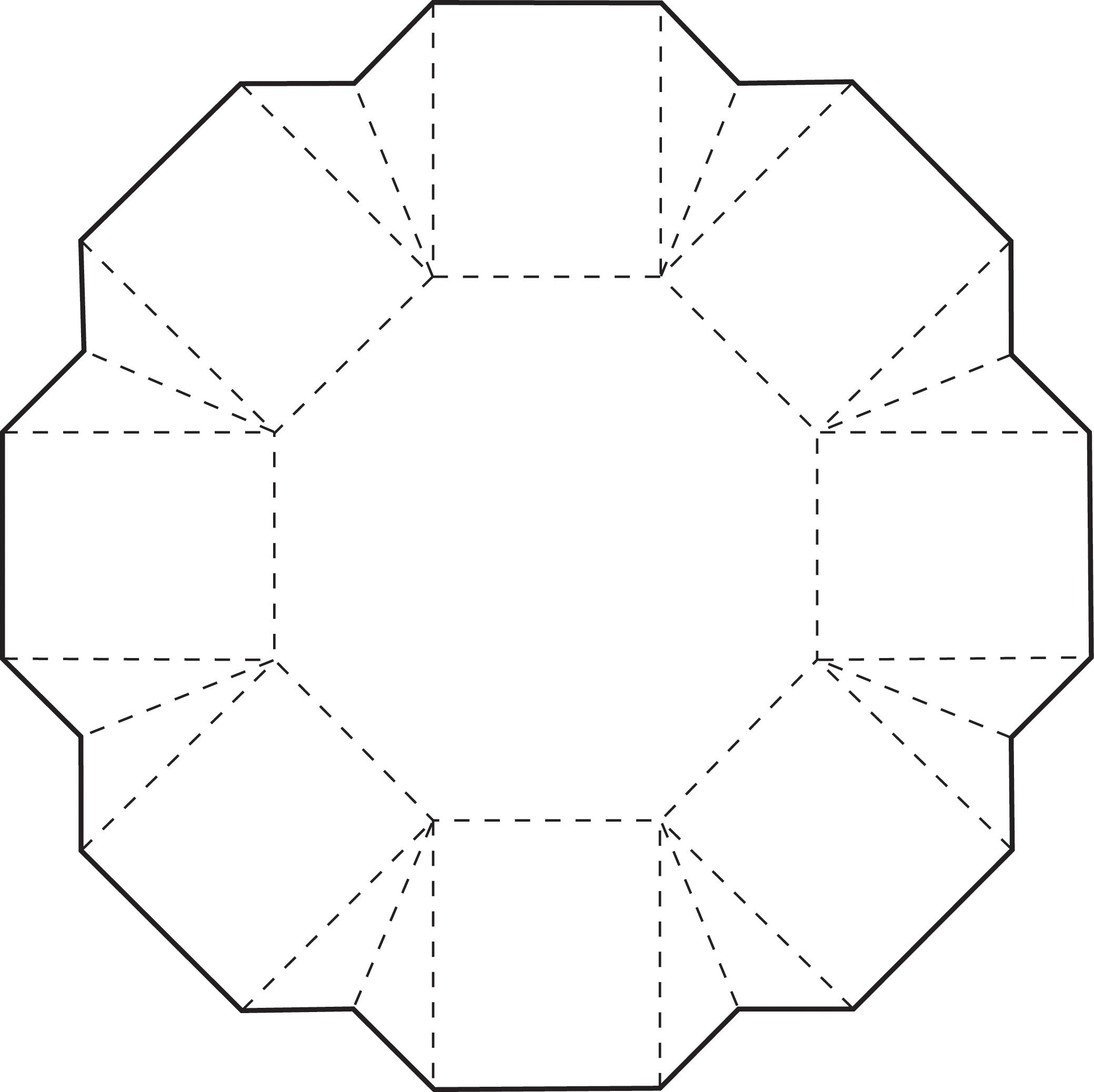 Box Templates Free Printable Octagon Box