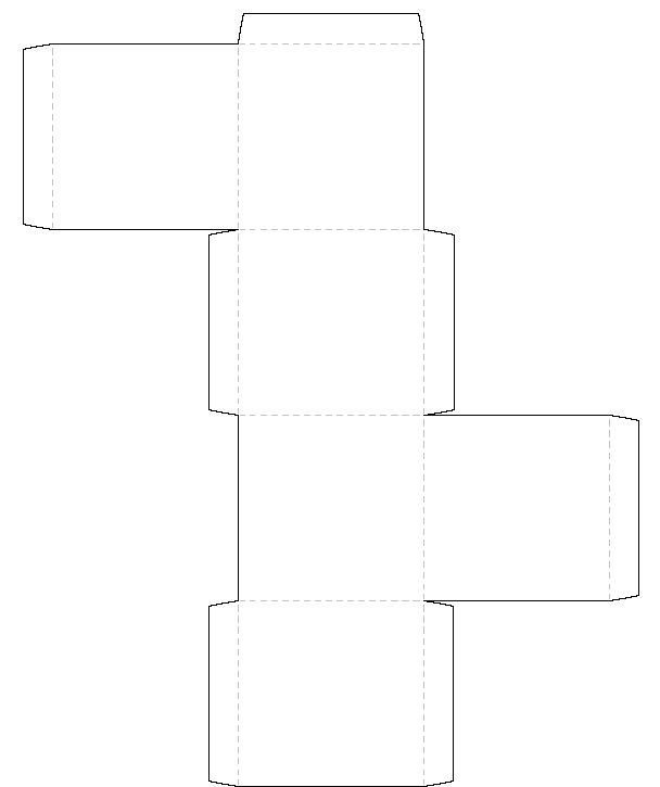 Box Templates Free Printable Printable Square Box Template