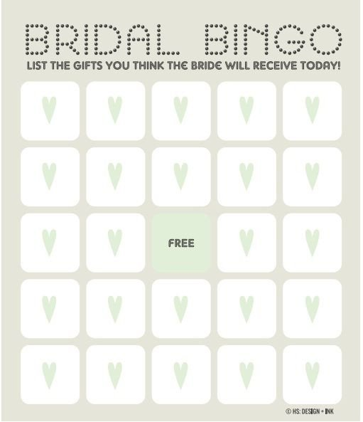 Bridal Bingo Free Template Blank 25 Best Ideas About Bingo Template On Pinterest