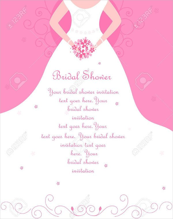 Bridal Bingo Free Template Blank 26 Free Bridal Shower Invitations Psd Eps