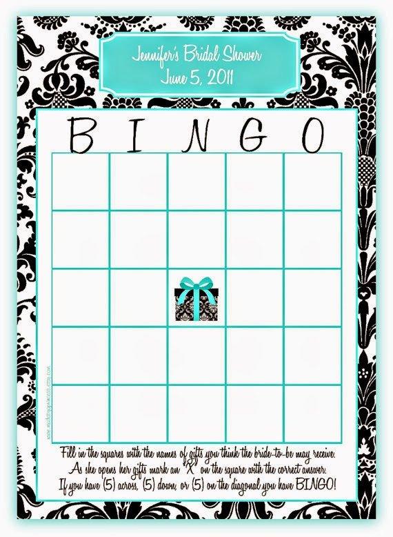 Bridal Shower Bingo Templates Memorable Wedding Fun Bridal Shower Games 5 Ideas for