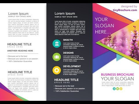 Brochure Google Docs Template Brochure Template Google Docs