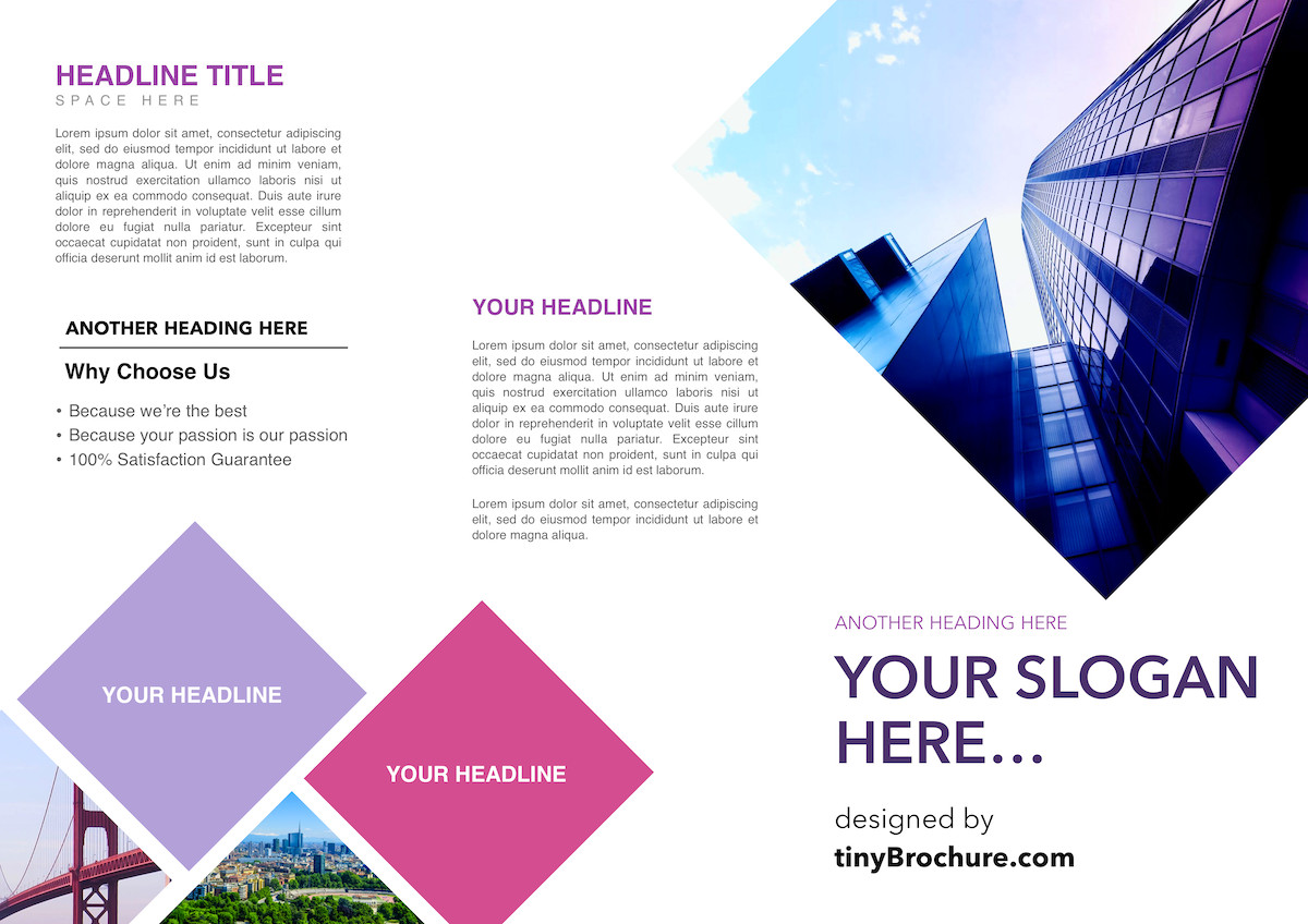 Brochure Template Google Doc 3 Panel Brochure Template Google Docs