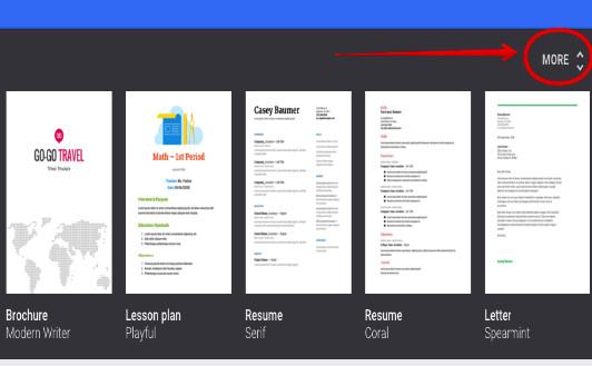 Brochure Templates Google Drive Google Docs Template Gallery