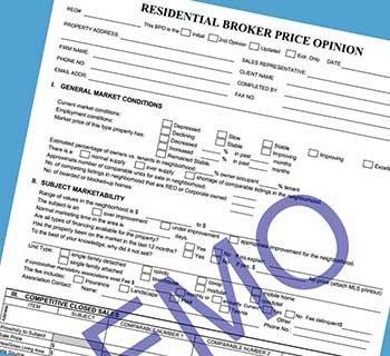 Broker Price Opinion Template Bpo form Driverlayer Search Engine