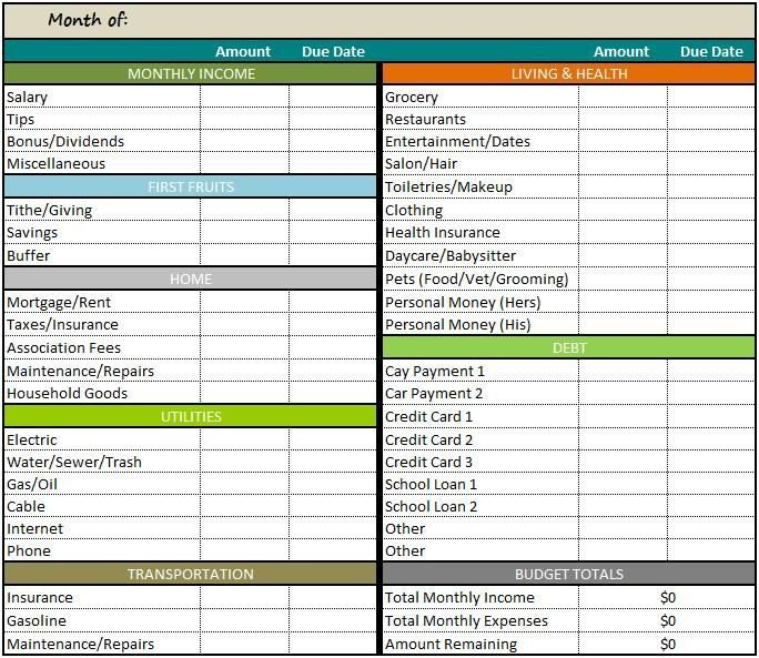 Budgeting Templates In Excel Best 25 Bud Templates Ideas On Pinterest