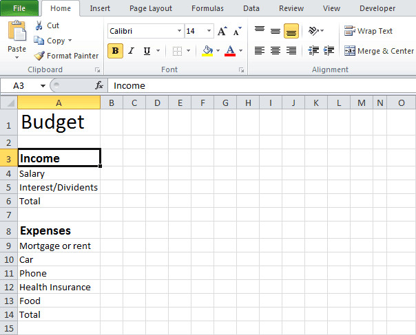 Budgeting Templates In Excel Excel Bud Templates Find Word Templates