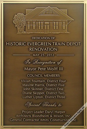 Building Dedication Plaque Wording Samples Government Plaques City Plaques County Plaques