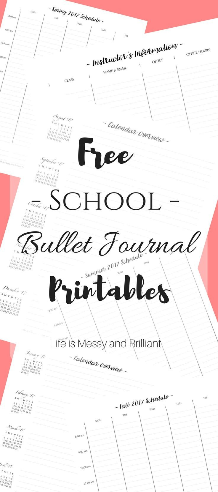 Bullet Journal Free Printables 25 Best Ideas About Journal Pages Printable On Pinterest