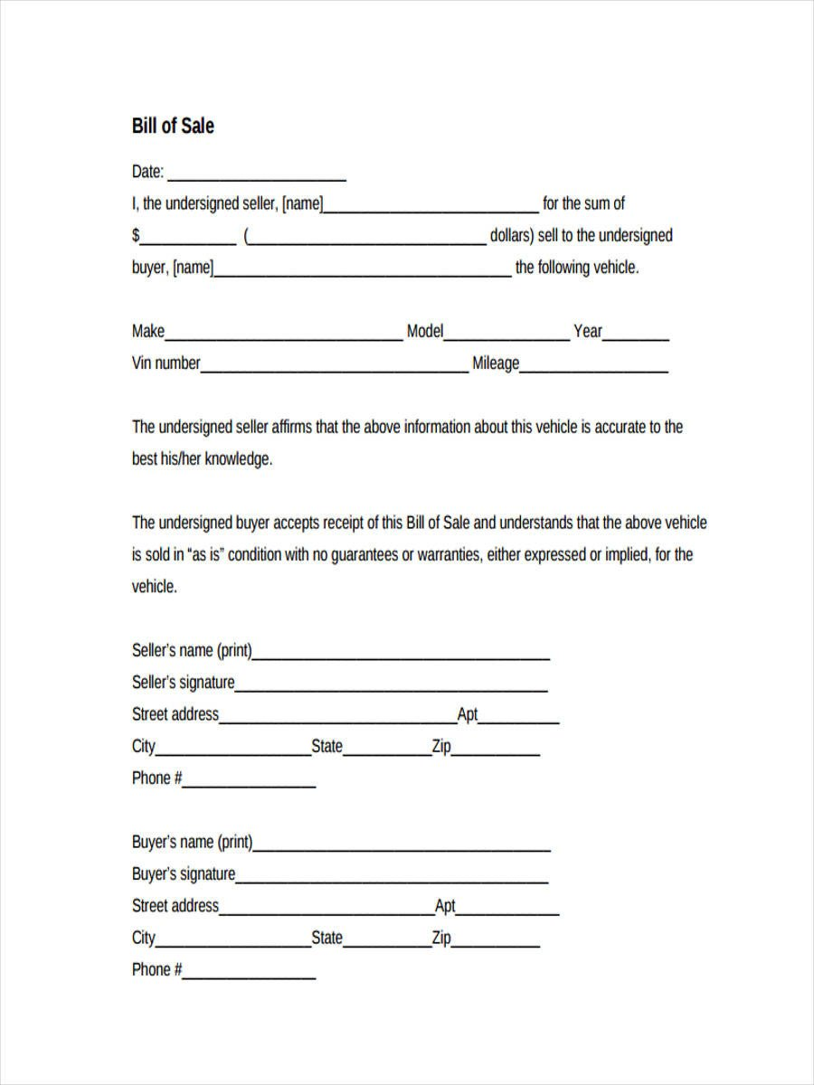 Business Bill Of Sale Business Bill Of Sale forms 7 Free Documents In Word Pdf