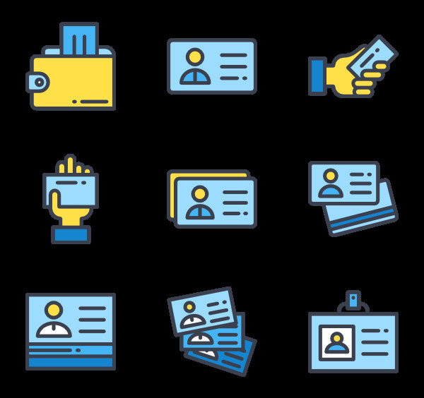 Business Card Icons Png 17 Business Card Icon Packs Vector Icon Packs Svg Psd