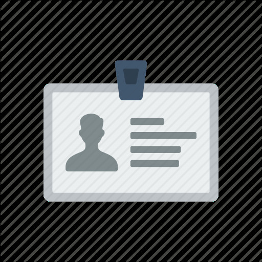 Business Card Icons Png Business Card Id Id Card Icon
