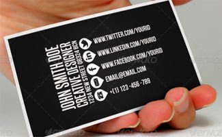 Business Card social Media How to Build Your Business Using social Media – We Rock