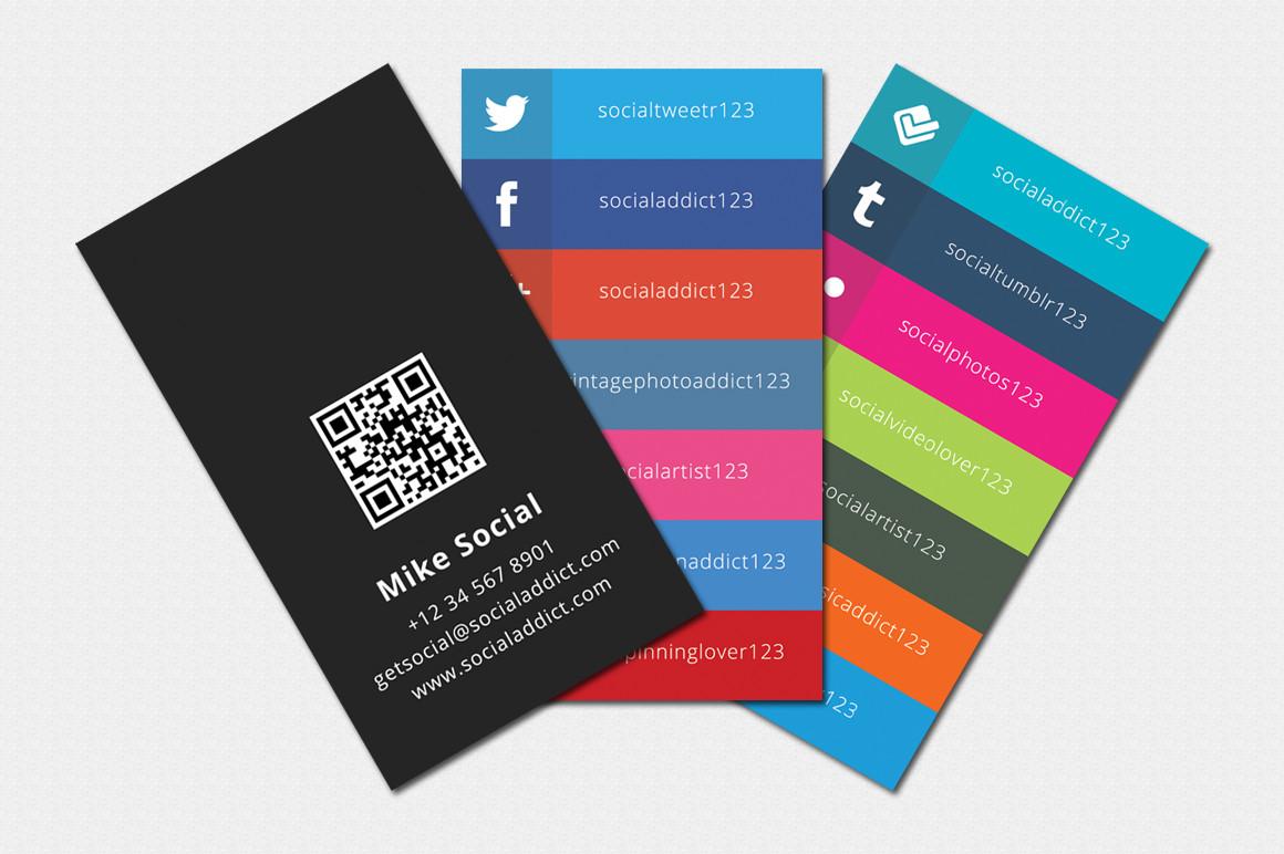 Business Card social Media social Media Cards Tekton Business