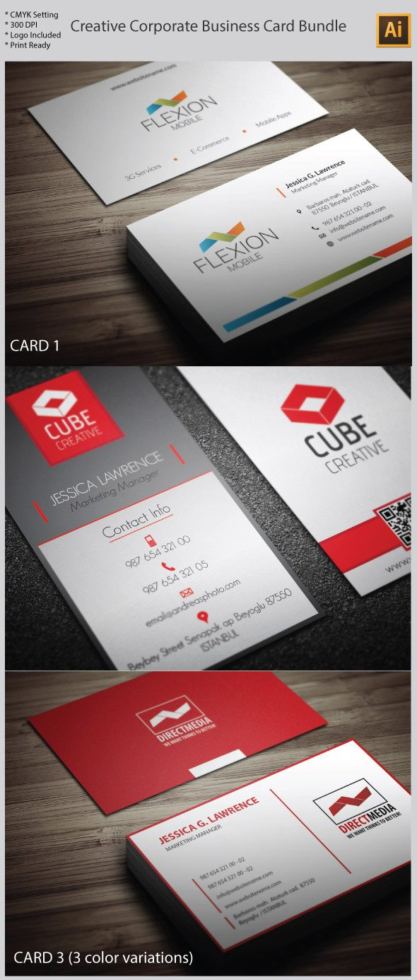Business Card Template Illustrator 15 Premium Business Card Templates In Shop