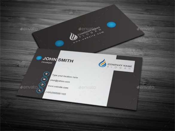 Business Card Template Illustrator 51 Cool Business Card Templates Word Pages Ai Psd