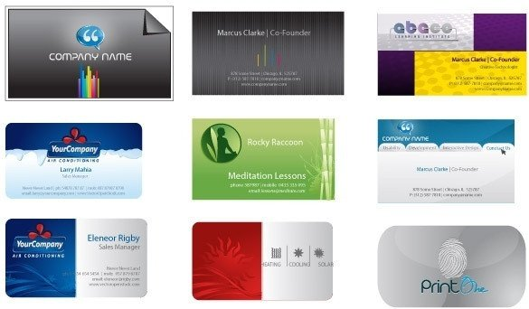 Business Card Template Illustrator Business Card Free Vector 21 703 Files for