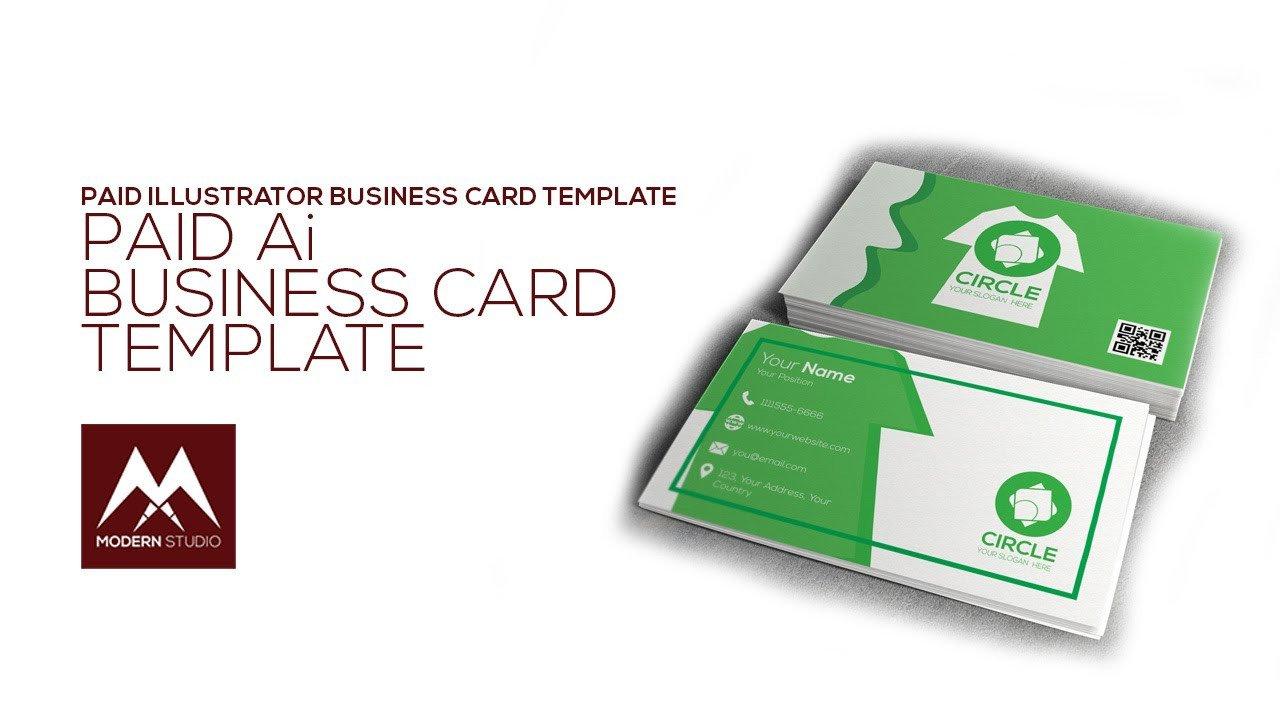 Business Card Template Illustrator Business Card Template Illustrator