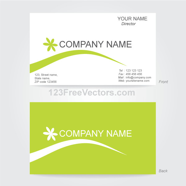 Business Card Template Illustrator Business Card Template Illustrator