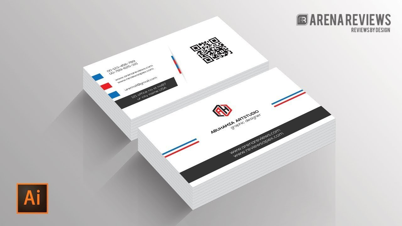 Business Card Template Illustrator How to Design Business Card Template Illustrator Cc