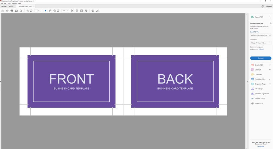 Business Card Template Illustrator How to Make A Business Card Template with Bleeds In Adobe
