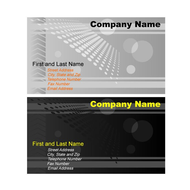 Business Card Template Illustrator Illustrator Business Card Template Graphics Download at