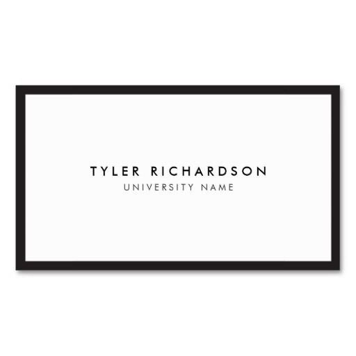 Business Cards for Students Best 21 Business Cards for College and University Students