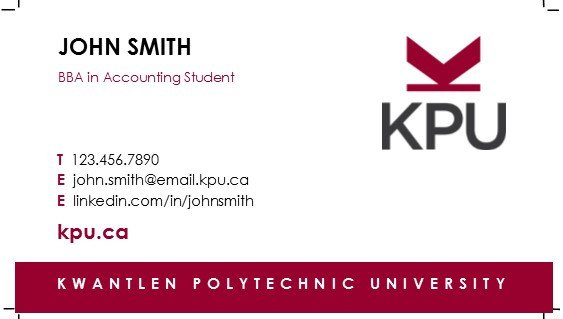 Business Cards for Students How to order Student Business Cards