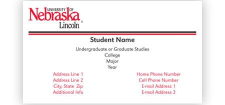 Business Cards for Students Services for Students