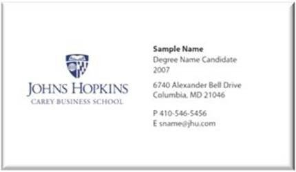 Business Cards for Students Student Business Cards & Name Badges