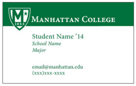 Business Cards for Students Student Business Cards