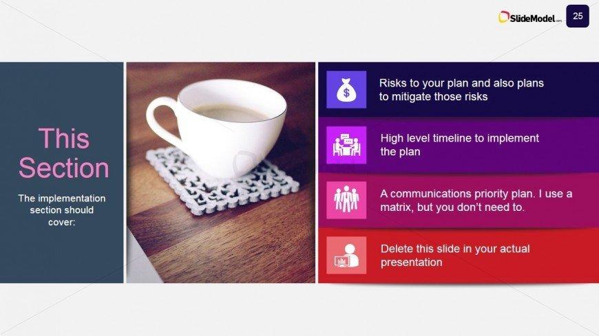 Business Case Template Ppt Case Stu S Implementation Plan Slide Slidemodel