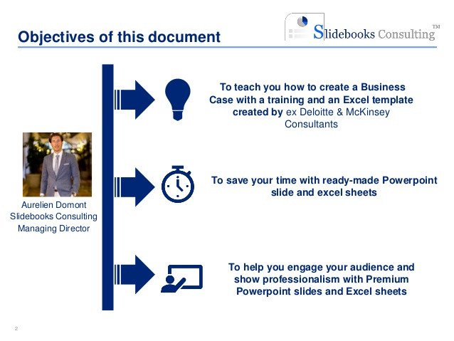 Business Case Template Ppt Simple Business Case Template